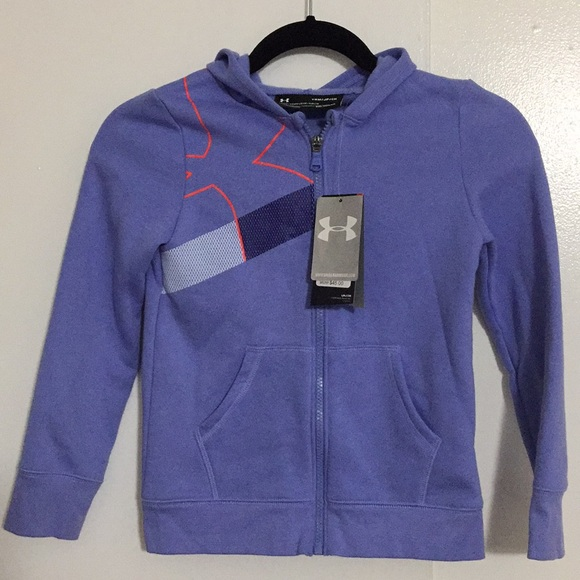 Under Armour Other - UNDER ARMOUR HOODIES YOUTH zipper front K03